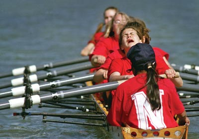 Niskayuna High School's crew team works hard to enjoy the beauty of rowing and thrill of competition.